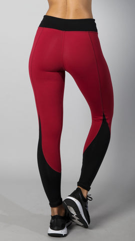 Legging L7025 Burgundy