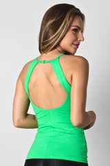 LIME GREEN LONG TOP LT1123 - Equilibrium Activewear