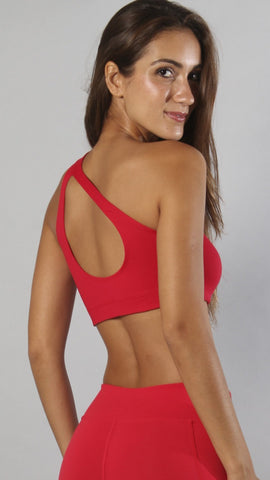 Designer Red Bra Top T435