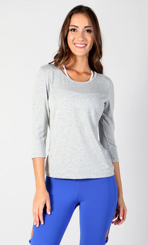 Emma Long Sleeve Thow-over LS1112 - Equilibrium Activewear