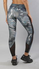 Designer Space-Gray Legging L796 - Equilibrium Activewear