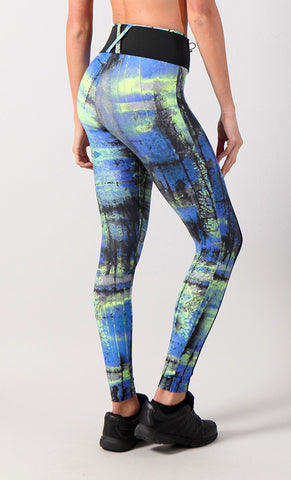 Legging 799 Chloe Blue Yellow - Equilibrium Activewear