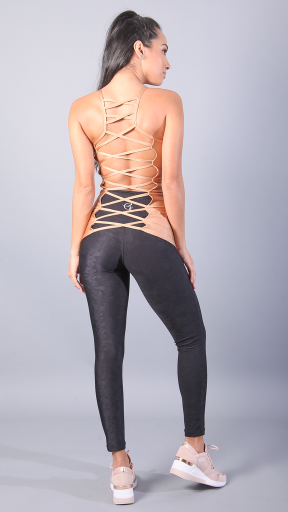 GOLD MARINA LONG TOPS LT1151 - Equilibrium Activewear