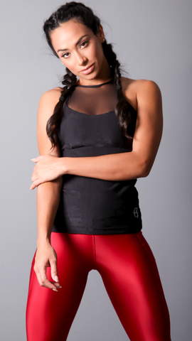 BLACK NINA LONG TOPS LT1156 - Equilibrium Activewear