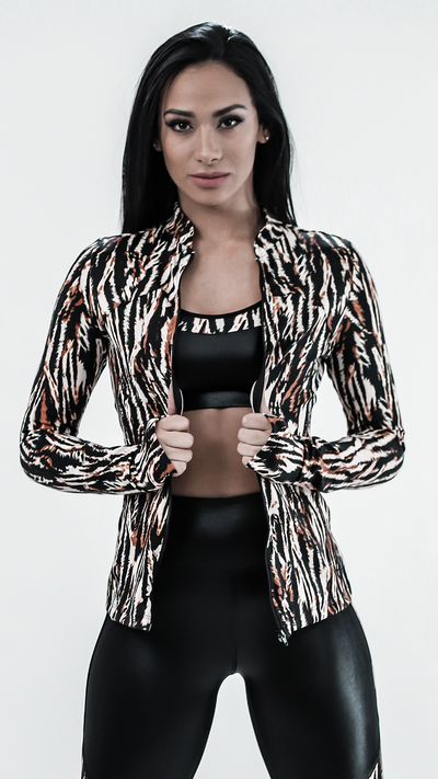Limited Edition Cheetah Dori Jacket J814