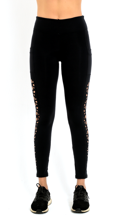Exclusive Laser Cut Arissa Legging L7060