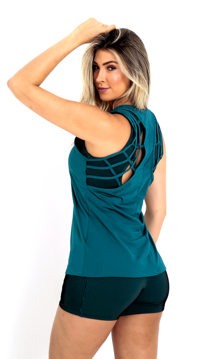 Elevate French Blue Tank LT1136