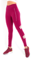 High-Waist Raspberry Flower Daphne Legging L7065