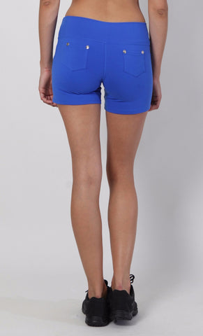 Shorts S506 Zip Royal - Equilibrium Activewear
