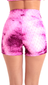 High-Waist Solarized Tie-Dye Short S532