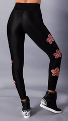 BLACK MALIA LEGGINGS L761 - Equilibrium Activewear