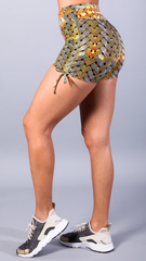GOLD VANESSA SHORTS S529 - Equilibrium Activewear