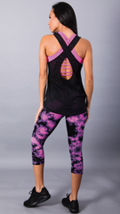 BLACK GISELE LONG TOPS LT187 - Equilibrium Activewear