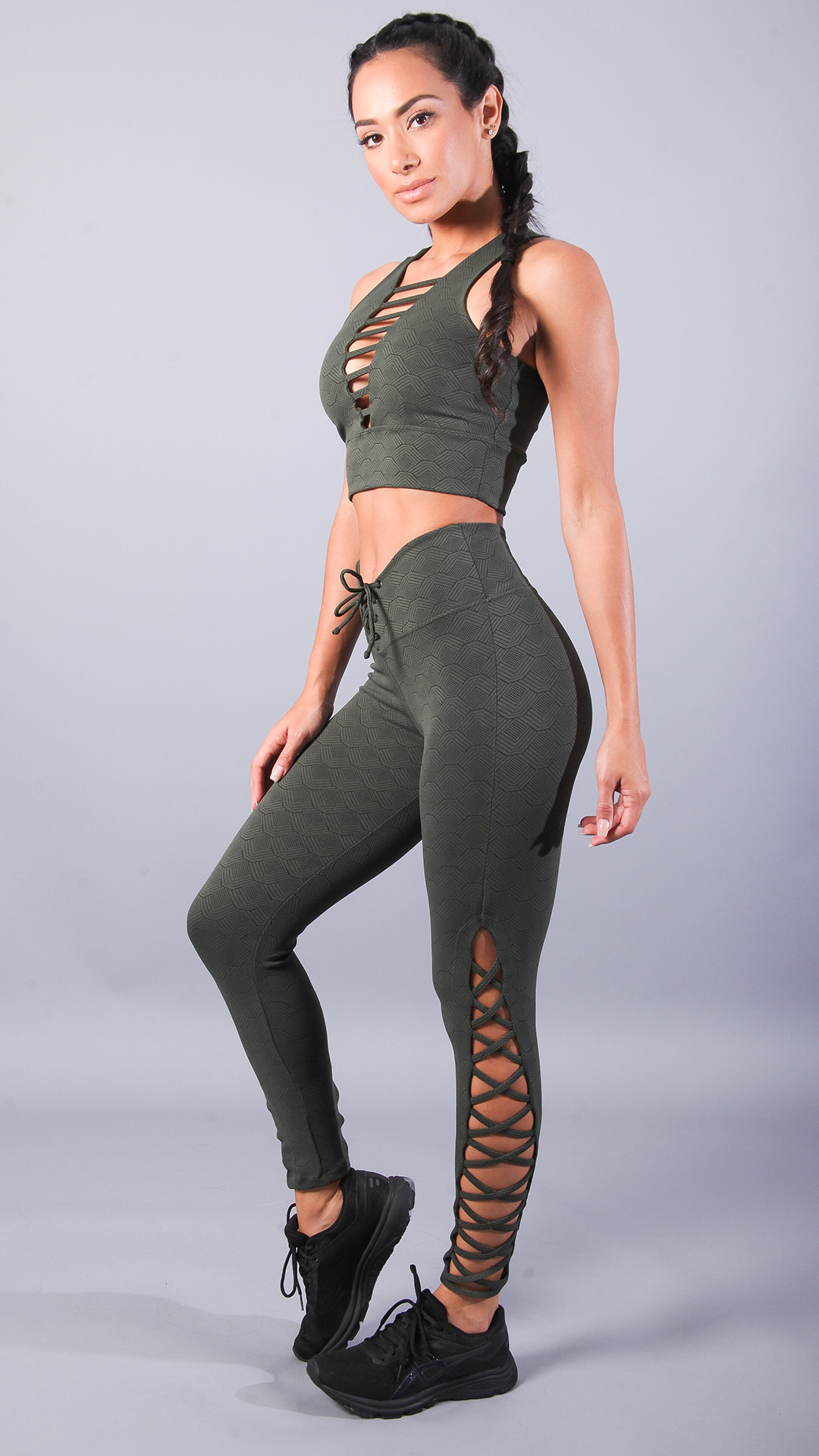 OLIVE JULIE LEGGINGS L7047 - Equilibrium Activewear