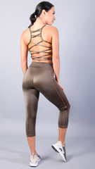 GOLD RUSH MERIDA BRA TOPS T459 - Equilibrium Activewear