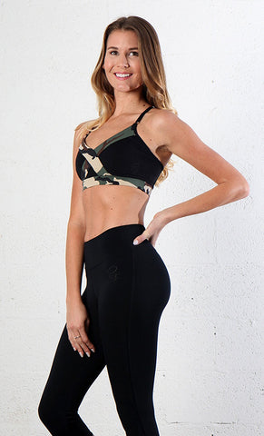Top 428 Camo Black - Equilibrium Activewear
