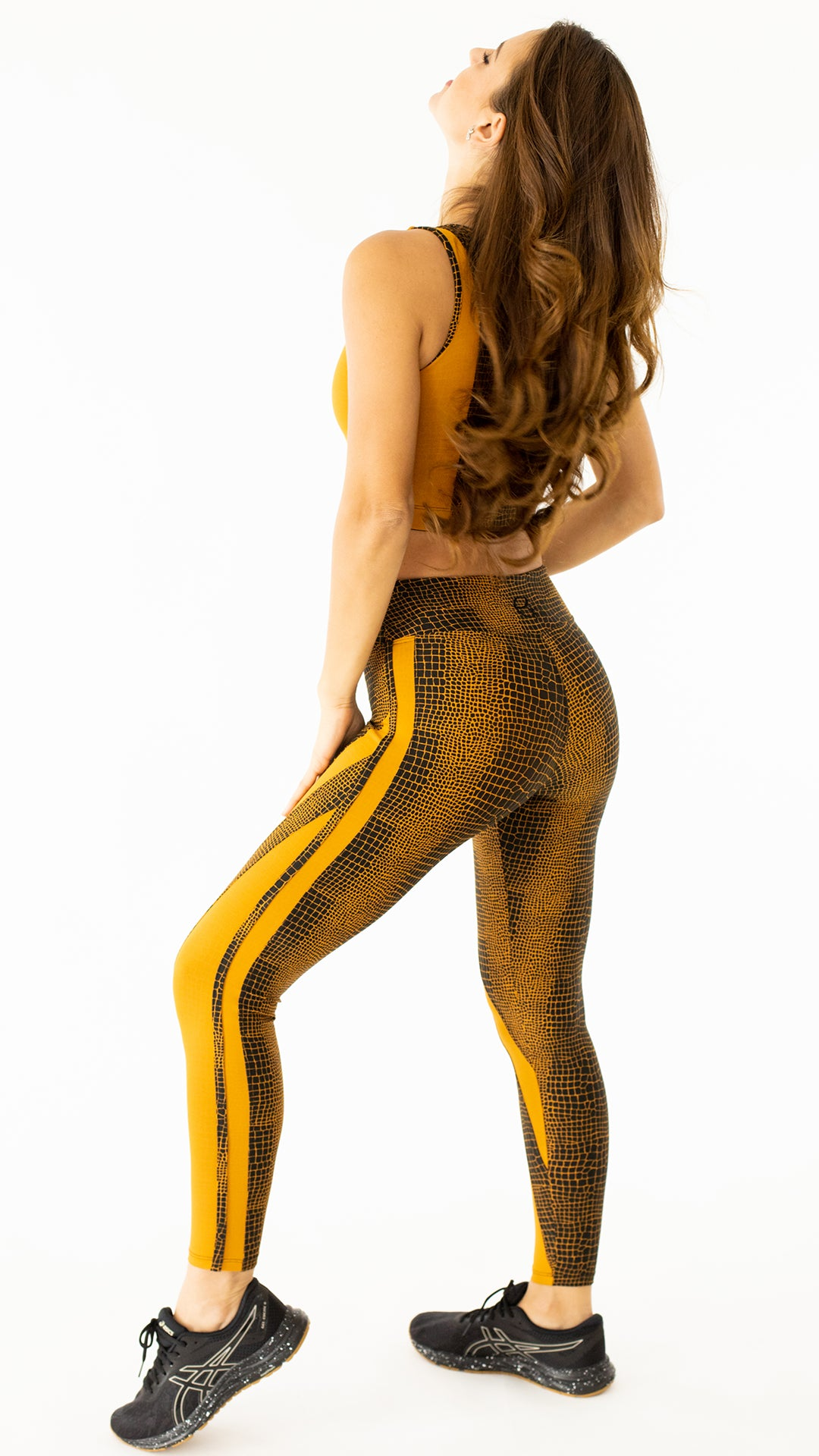 Yellow Trina Legging L775 - Equilibrium Activewear
