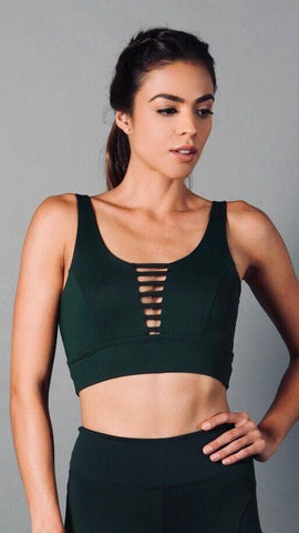 SHEER GREEN JACKIE TOP T445