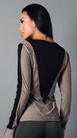 3D SAND SOPHIE LONG SLEEVE LS1131 - Equilibrium Activewear