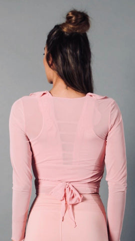 BALLET PINK MARIANA LONG TOP LT1143 - Equilibrium Activewear