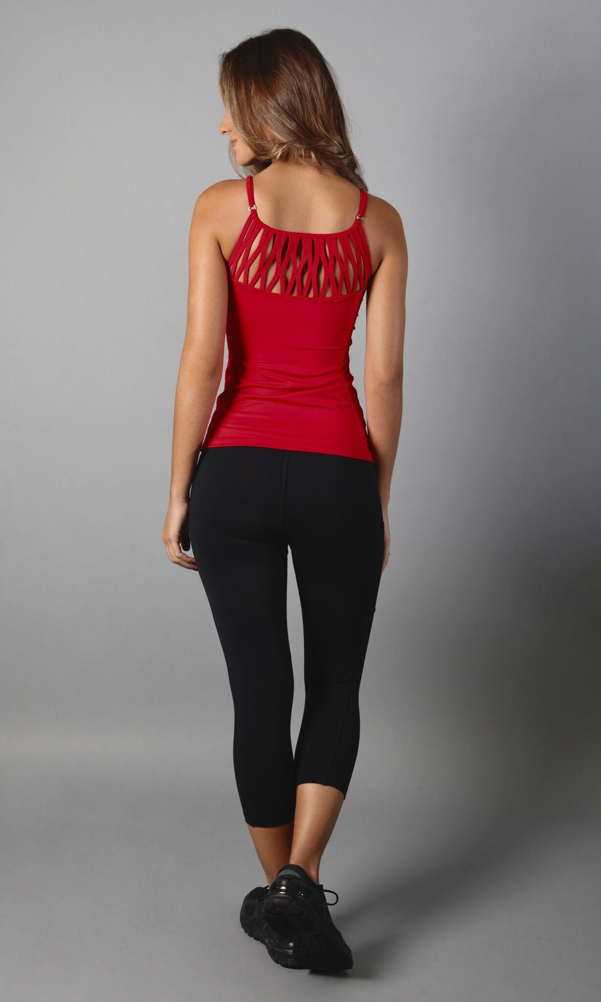 Red Dreamcatcher Top LT1084 - Equilibrium Activewear