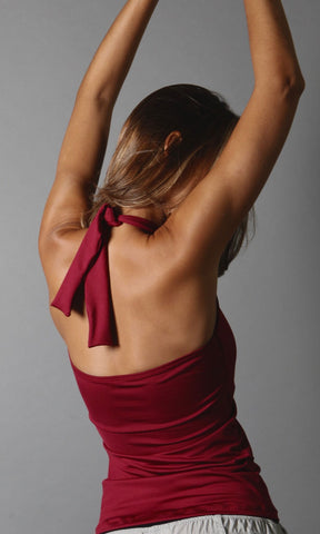 Burgundy Karol Top LT1116 - Equilibrium Activewear