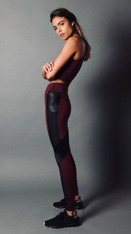 CRIMSON HELENA LEGGINGS L7041 - Equilibrium Activewear