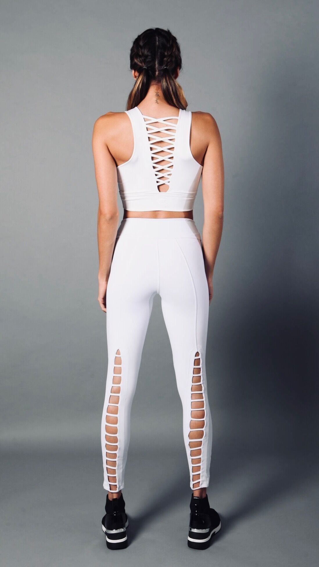 WHITE SARAH LEGGINGS L768