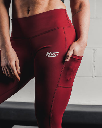 GNPT Leggings - Crimson