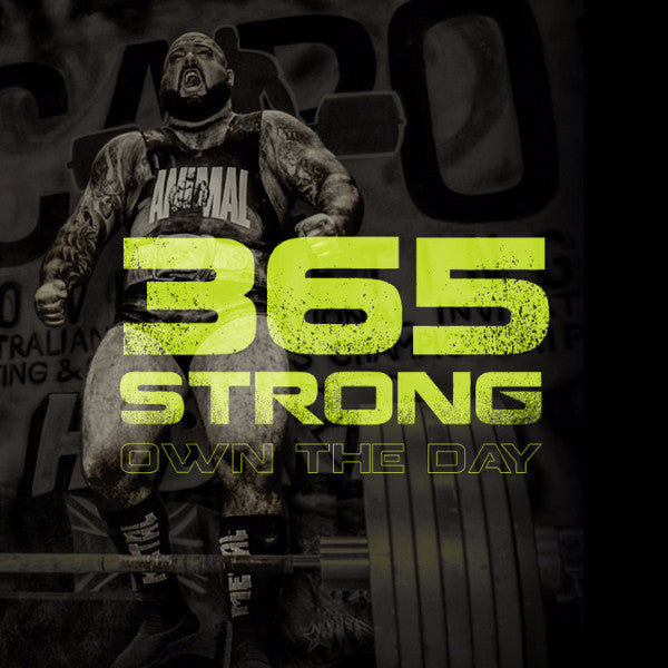 365 Strong E-Book by Brandon Lilly