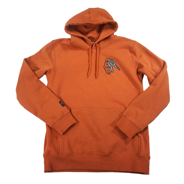 At The Wheel - Hoodie - Copper
