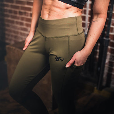 GNPT Leggings - GREEN