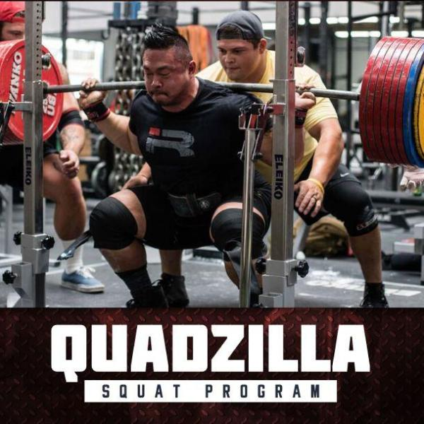 Quadzilla Squat Program by Andy Huang