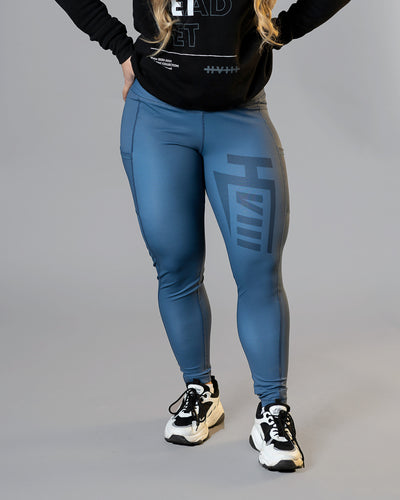 GNPT Leggings - Sharp - Slate Blue