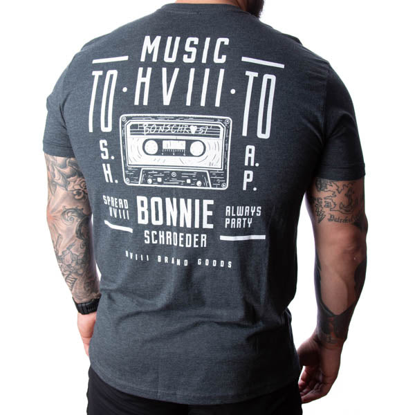Bonschro Mix Tape Tee