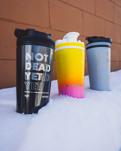 Insulated Super Shaker - Not Dead Yet (NDY) - Obsidian Fade