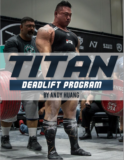 Titan Deadlift Program by Andy Huang