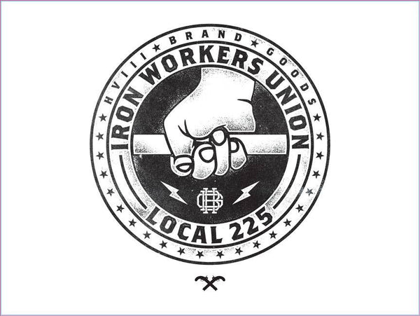 Iron Workers Union Banner