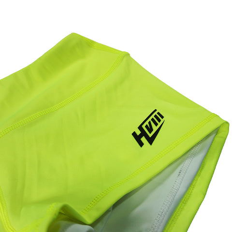 Contour Shorts - HIFI Bright Yellow