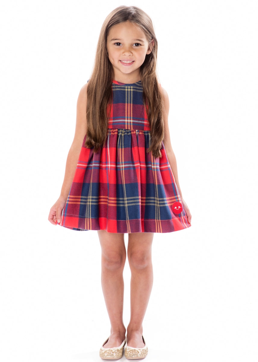 HARVEST PLAID PINNY
