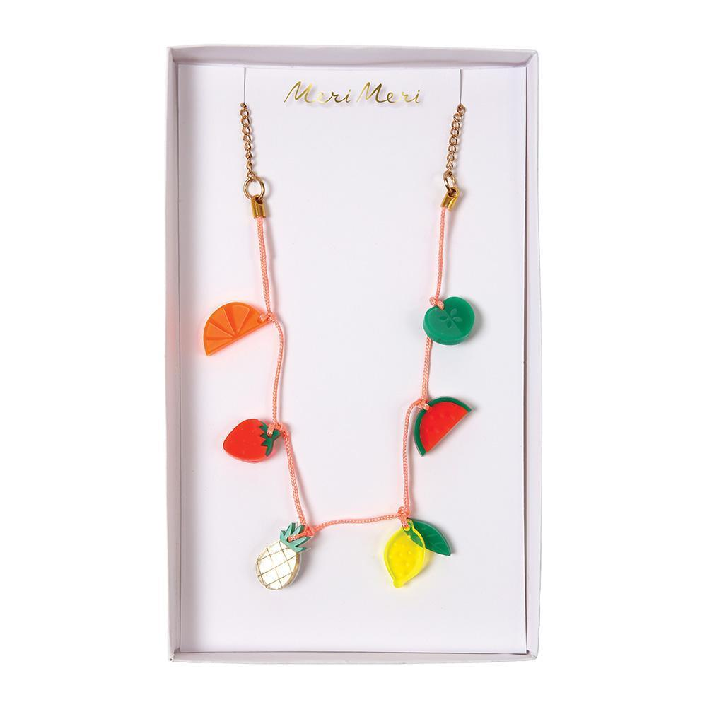 Fruit Charm Necklace