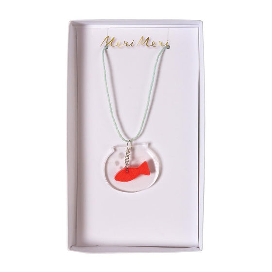 Fish Bowl Necklace