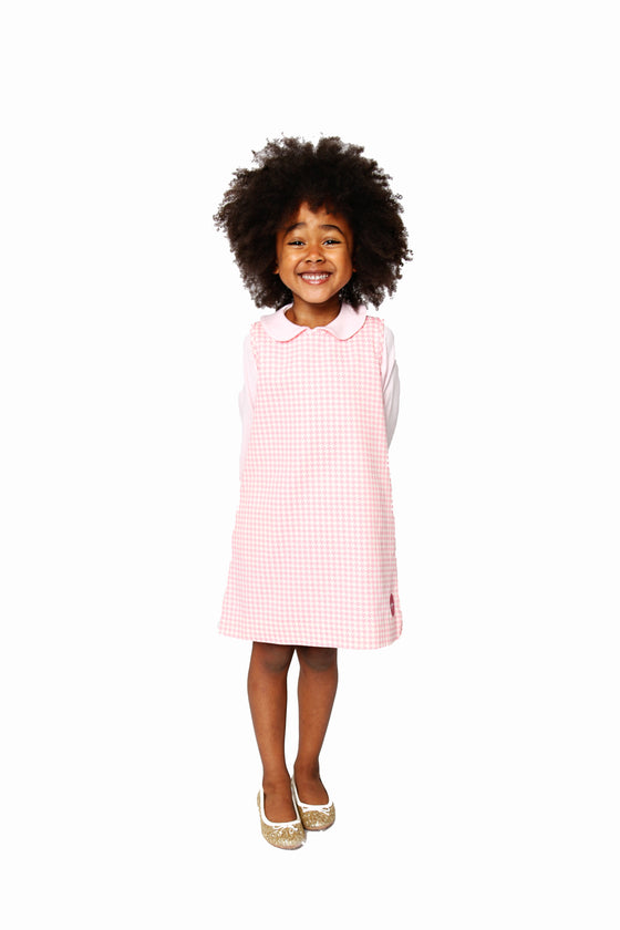 PINK HOUNDSTOOTH TUNI