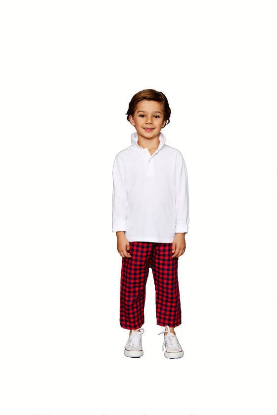 SCHOOL YARD CHECK PANT