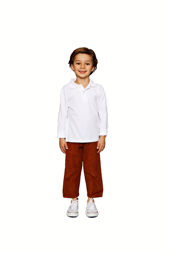 CHESTNUT CORD PANT
