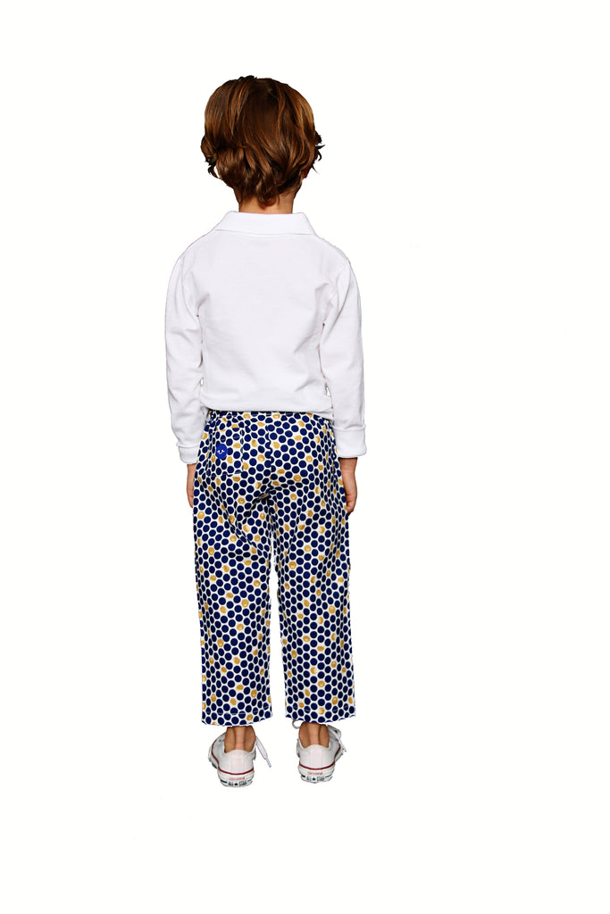 NAVY HEDGEHOGS PANT