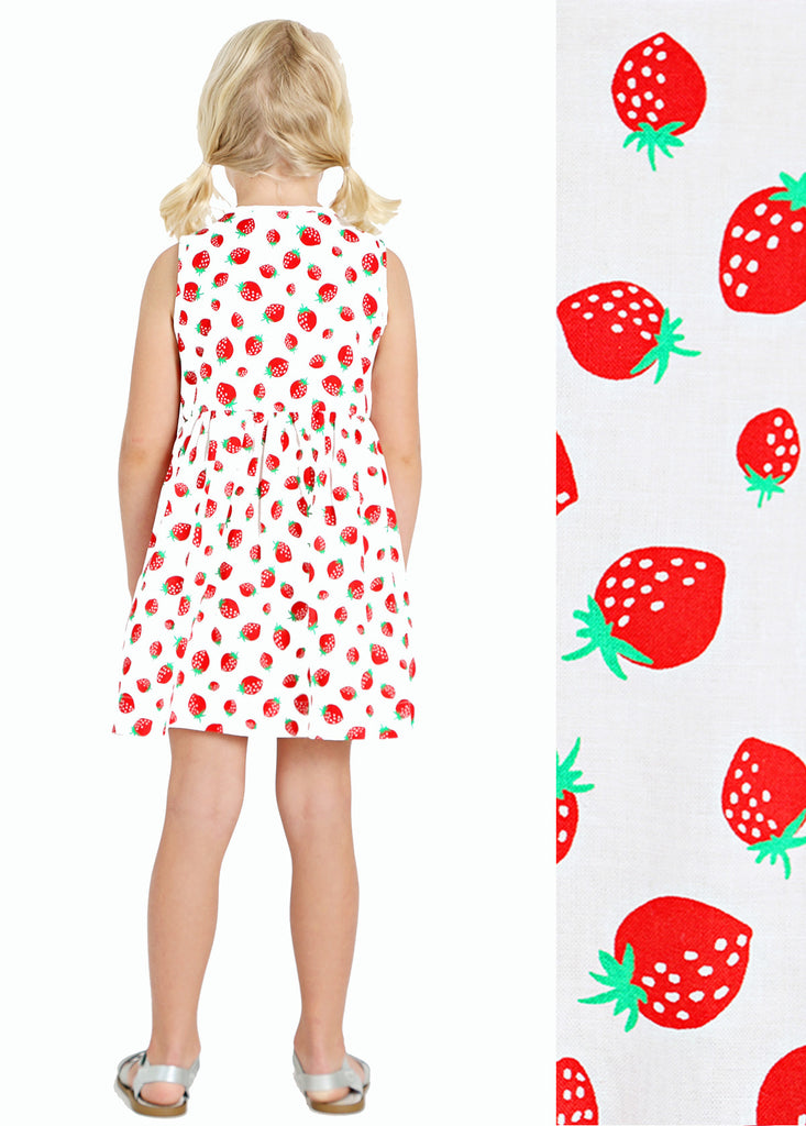 STRAWBERRY FIELD DOUBLE BUTTON