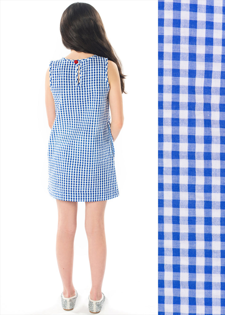 BLUE GINGHAM TUNI