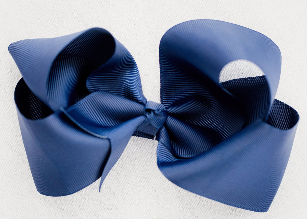 CLASSIC NAVY BLUE BOW