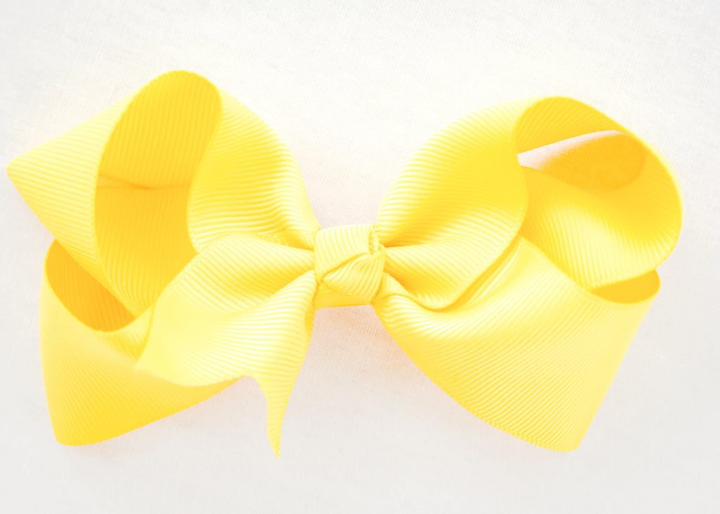 SUNSHINE YELLOW BOW